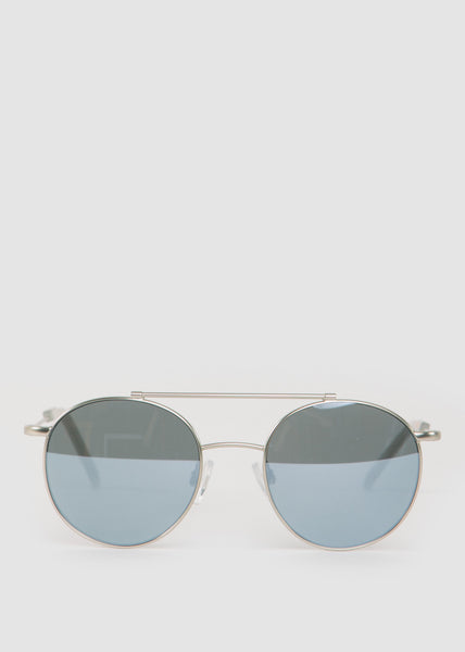 Metallicum P Sunglasses Silver/Mirror