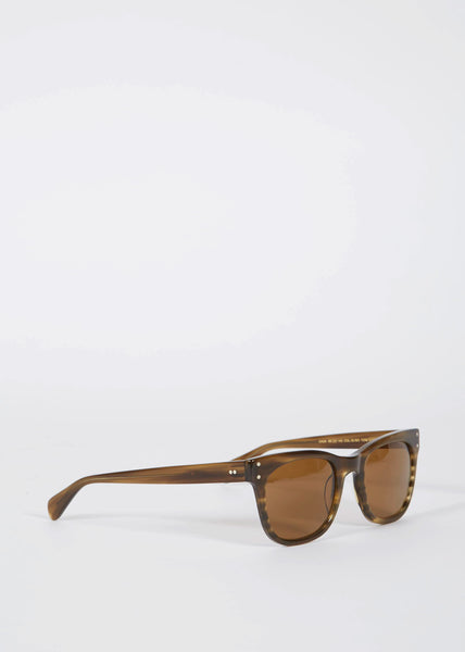 Baba Sunglasses Olive Tortoise brown lens