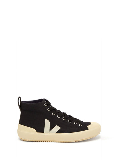 Nova HT Canvas Shoes Black Butter Sole