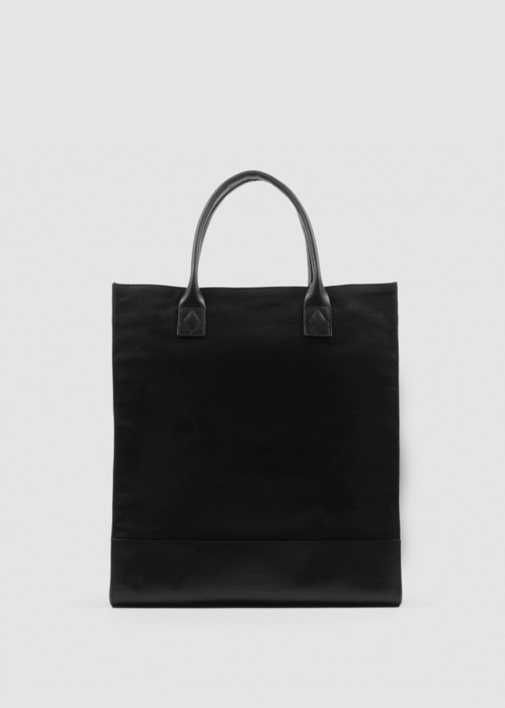 New Tote Bag Canvas Black