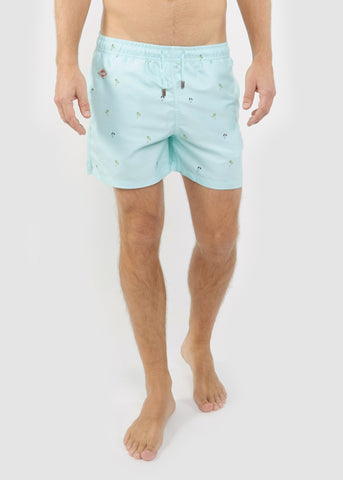 Equator Swim Shorts Blue