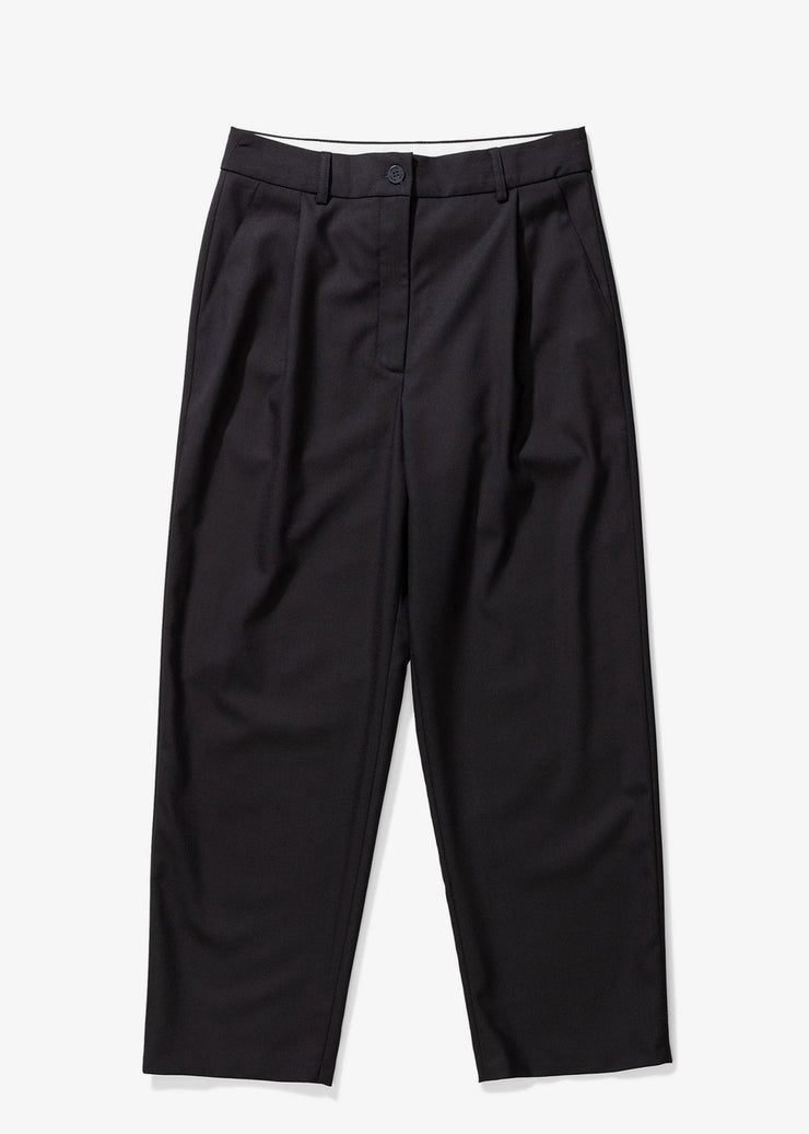 Nina Wool Pants Black