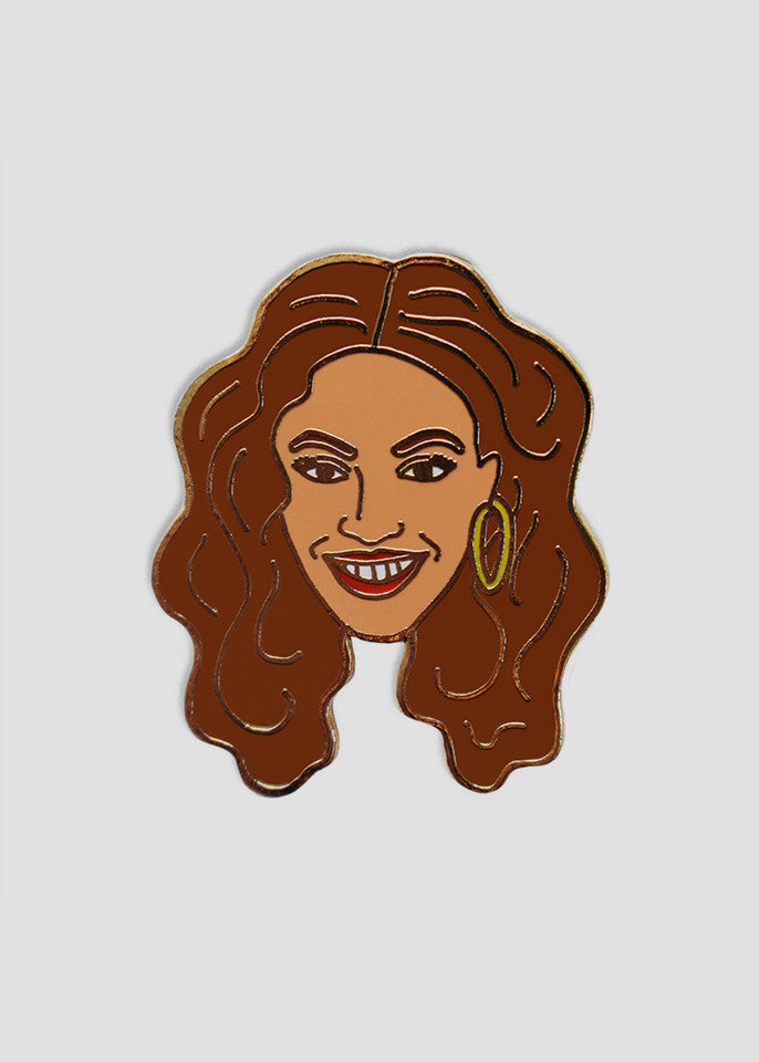 Beyonce Pin Georgia Perry Womens Accessories- someplace