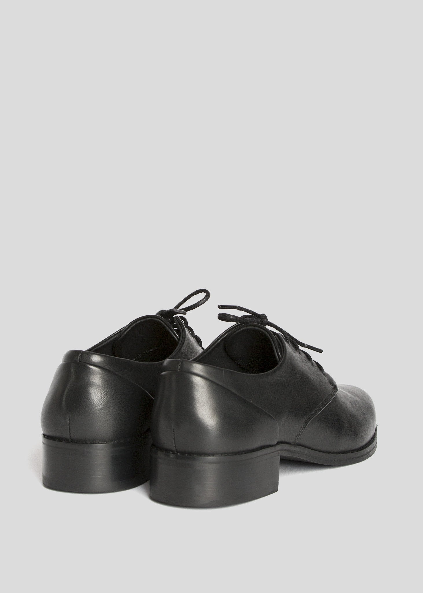Prime Derby Shoe Black