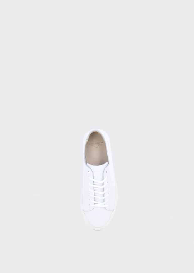 Doric Derby Shoes White