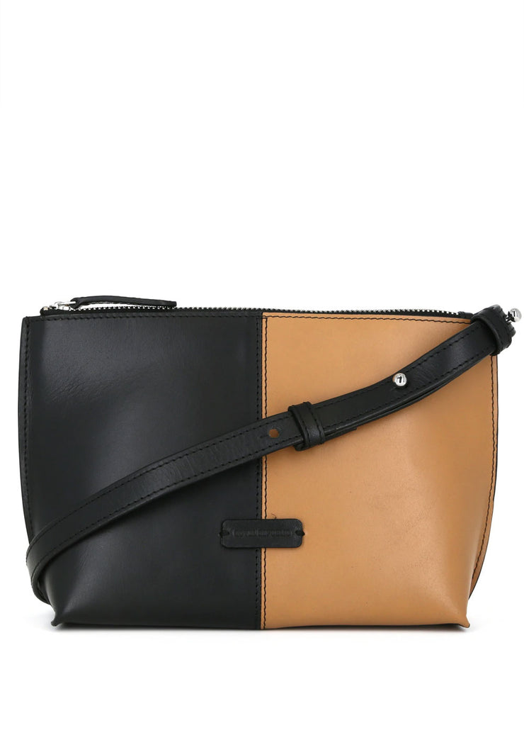 Fusion Colourblock Clutch Black