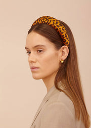 Maxine Headband Brown/Orange