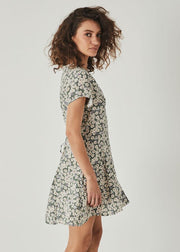 Milla Daisies Dress Olive