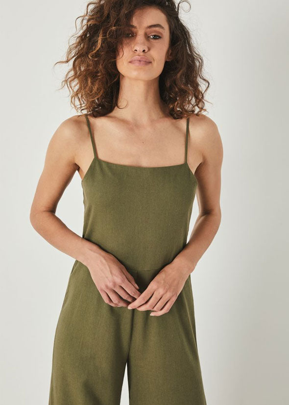 Super Sailor Jumpsuit Olive