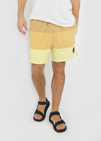 Sunset Shorts Yellow Gradient