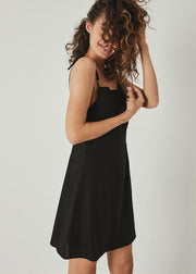 Tie Bridget Dress Black