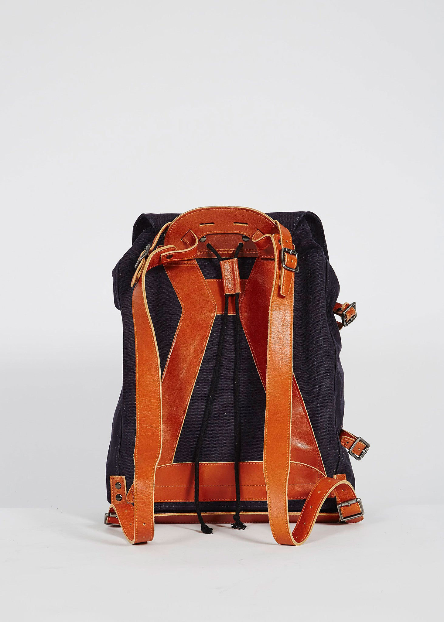 Legioner City Canvas Backpack Navy