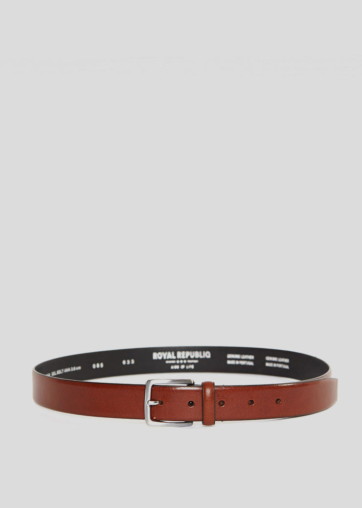 Bel Belt Ana 3cm Tan Royal Republiq Mens Belts- someplace