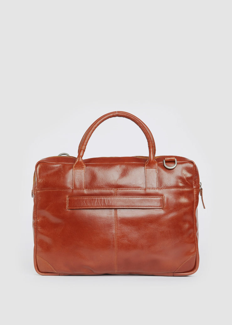 Explorer Laptop Bag Single Cognac
