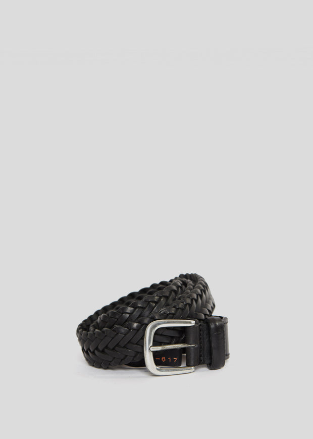 Past Braided Belt Black
