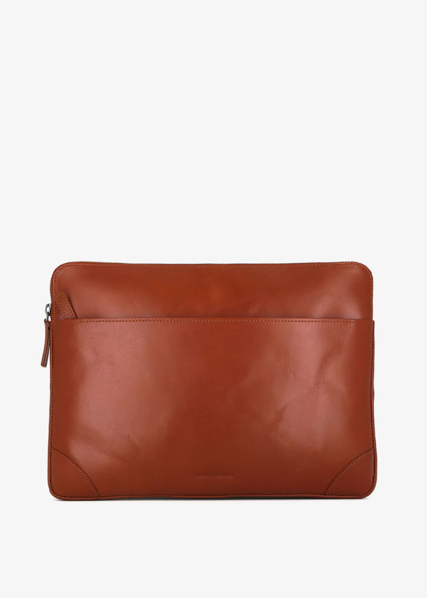 Explorer Laptop Sleeve Cognac