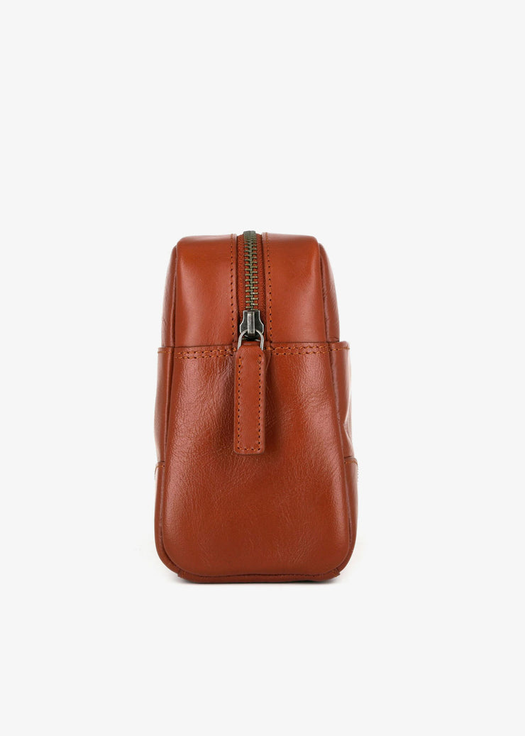 Explorer Washbag Cognac