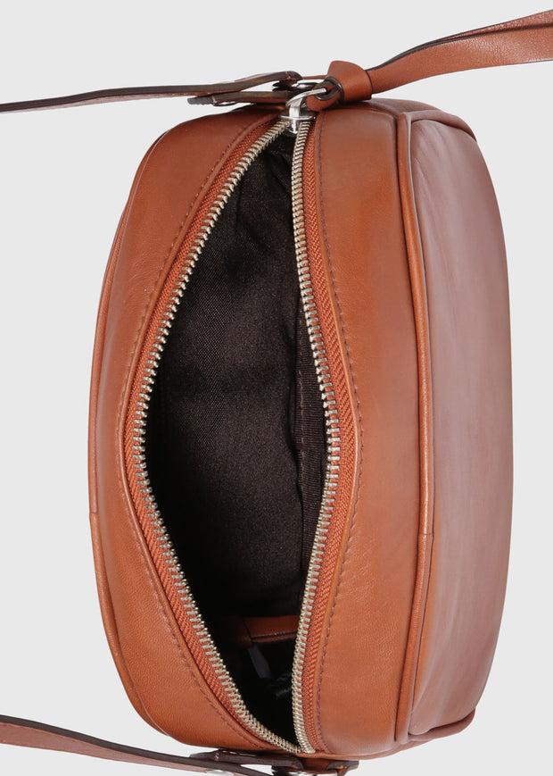 Metropolis Evening Bag Cognac