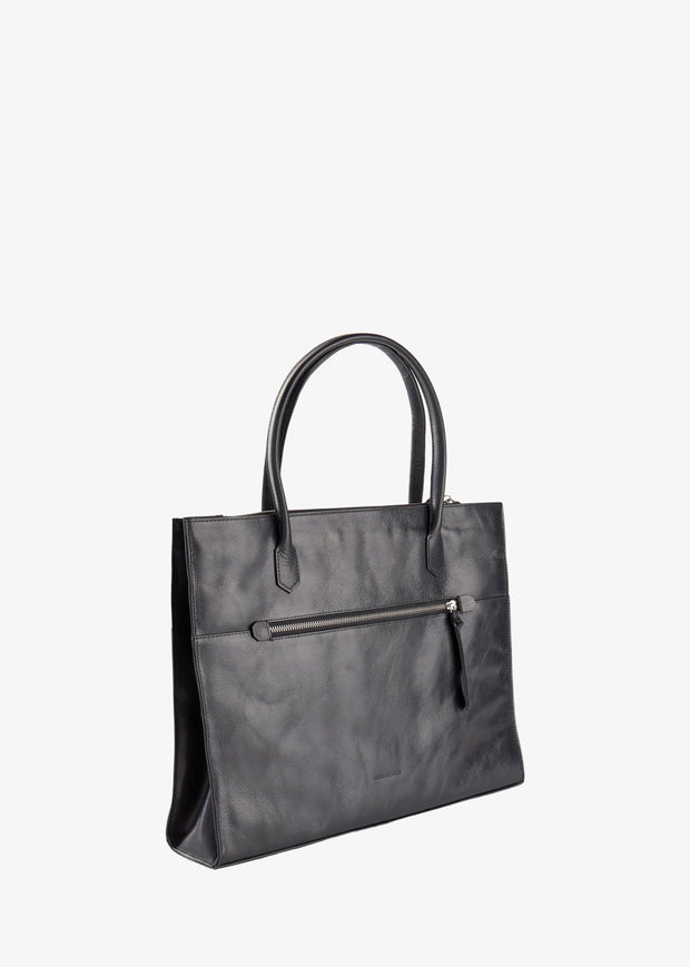 Metropolis Shopper Bag Black