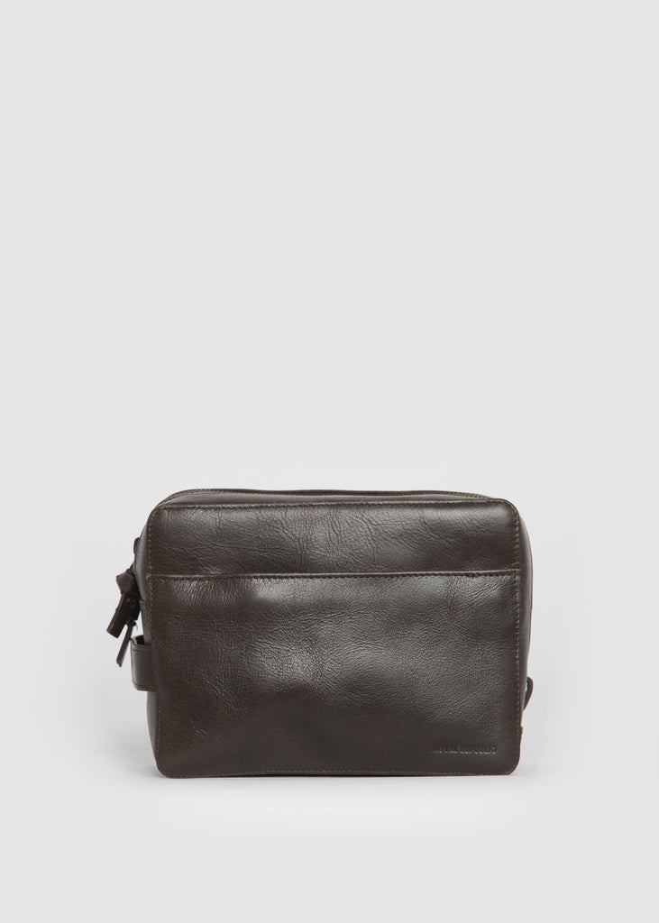 Gemin Toilet Bag Mini Brown