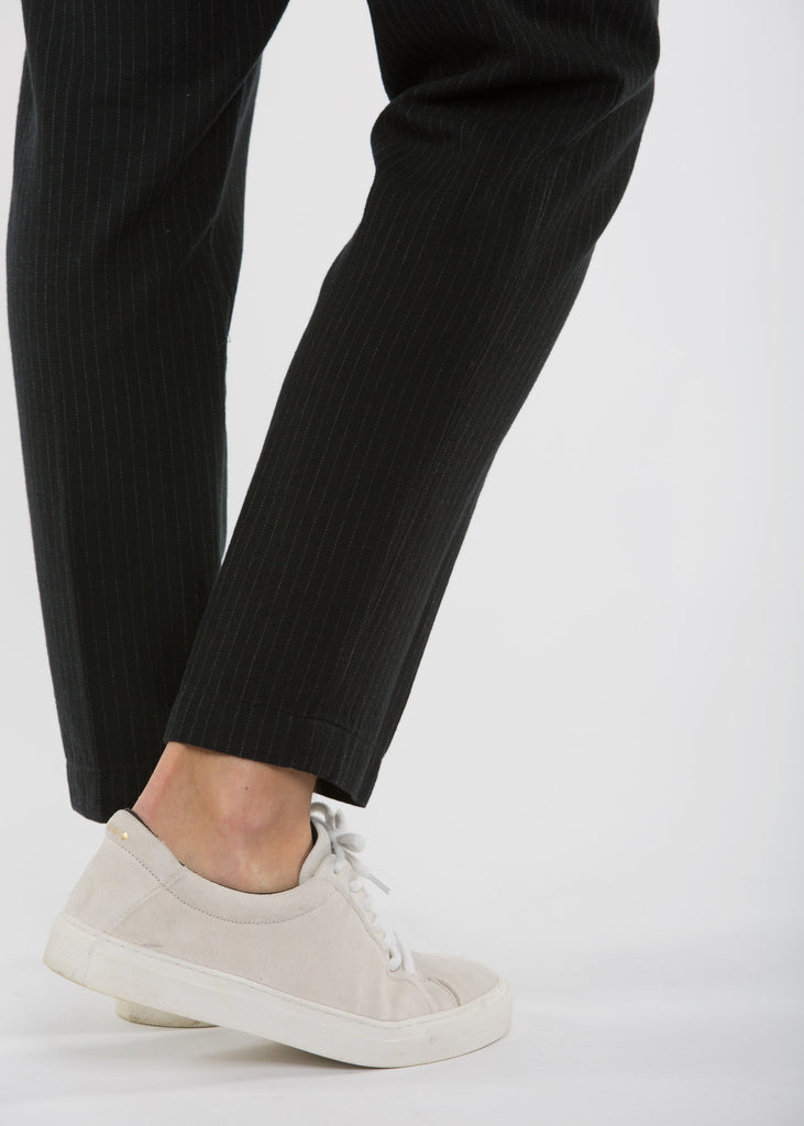 Slackers Pants Navy Pin Stripe