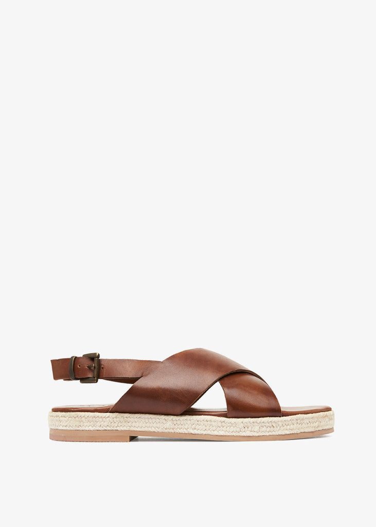 Basque Espadrille Antique Tan