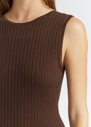 Gia Knit Dress Cocoa