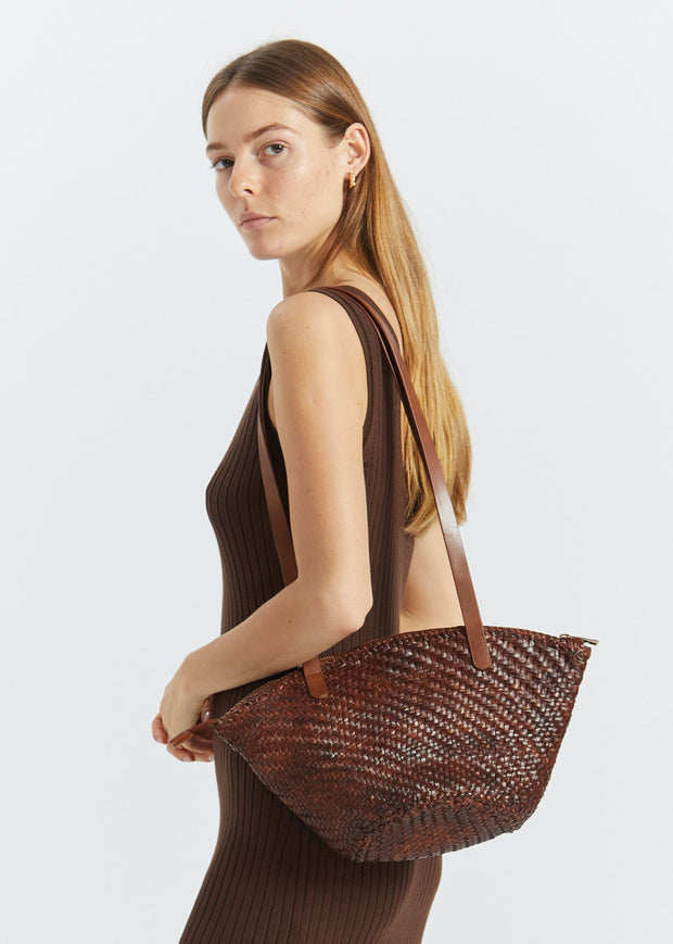 Otton Woven Bag Antique Tan