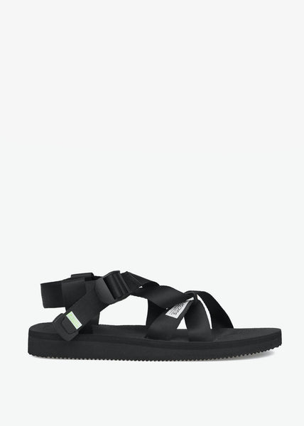 Chin2-Cab Sandals Black