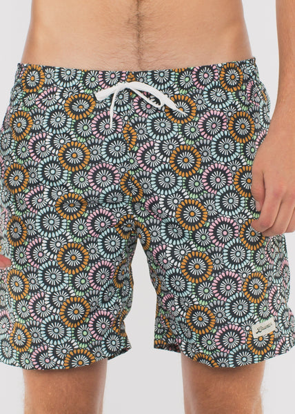 Swim Trunk Flowers Multi