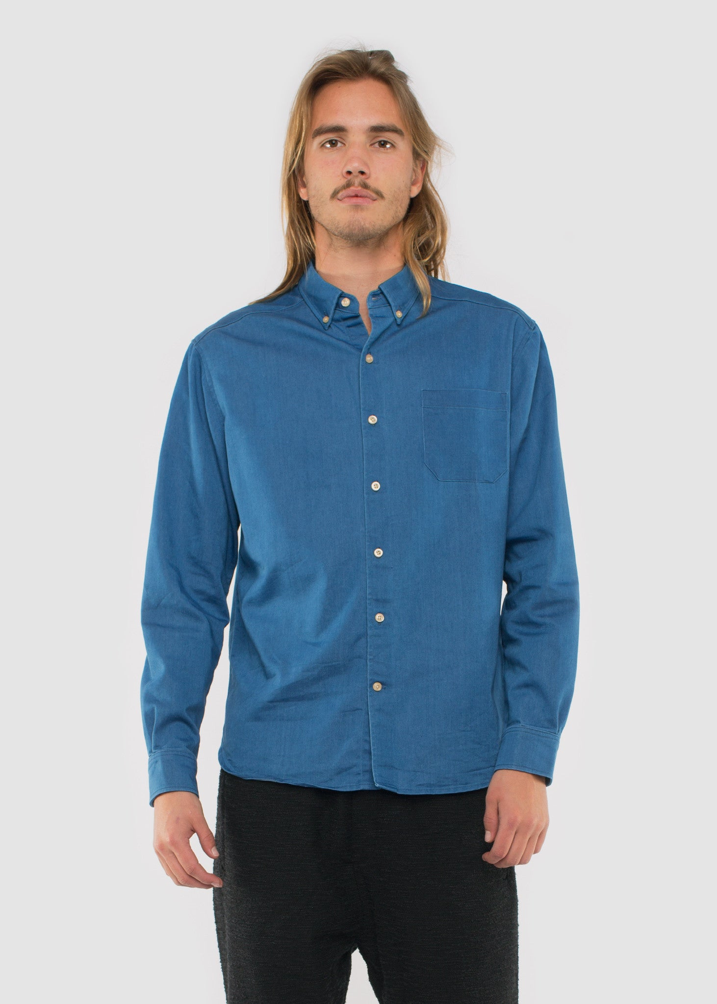 TWR Denim Shirts Mid
