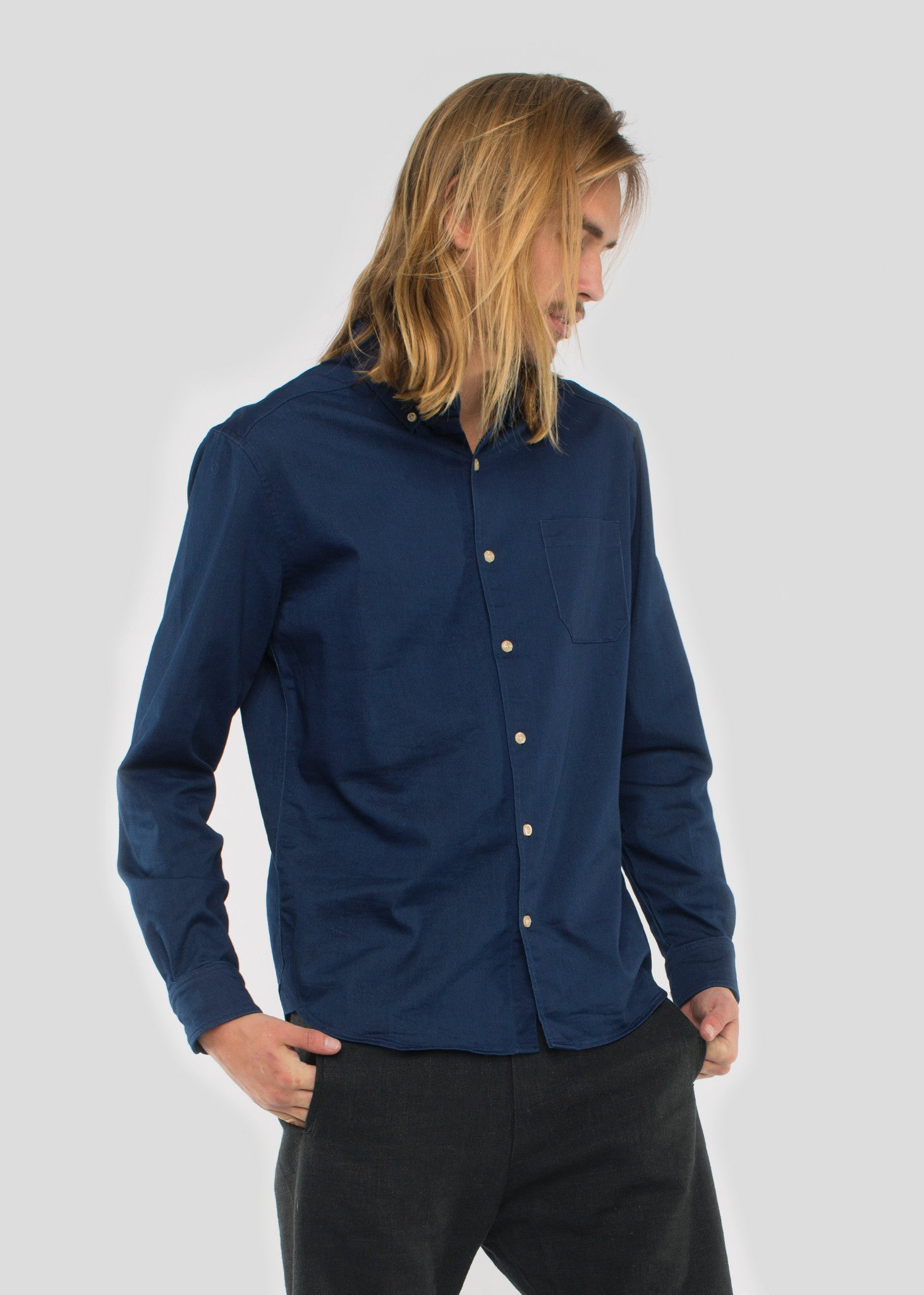 TWR Shirt Dark Denim