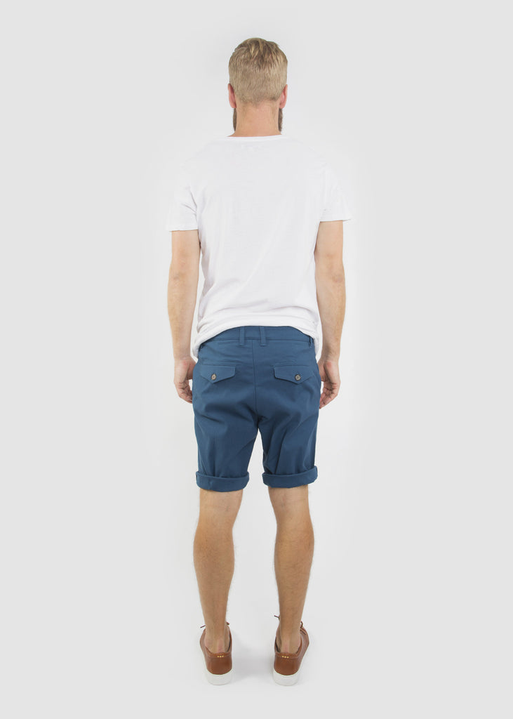 TWR Shorts Steel Blue