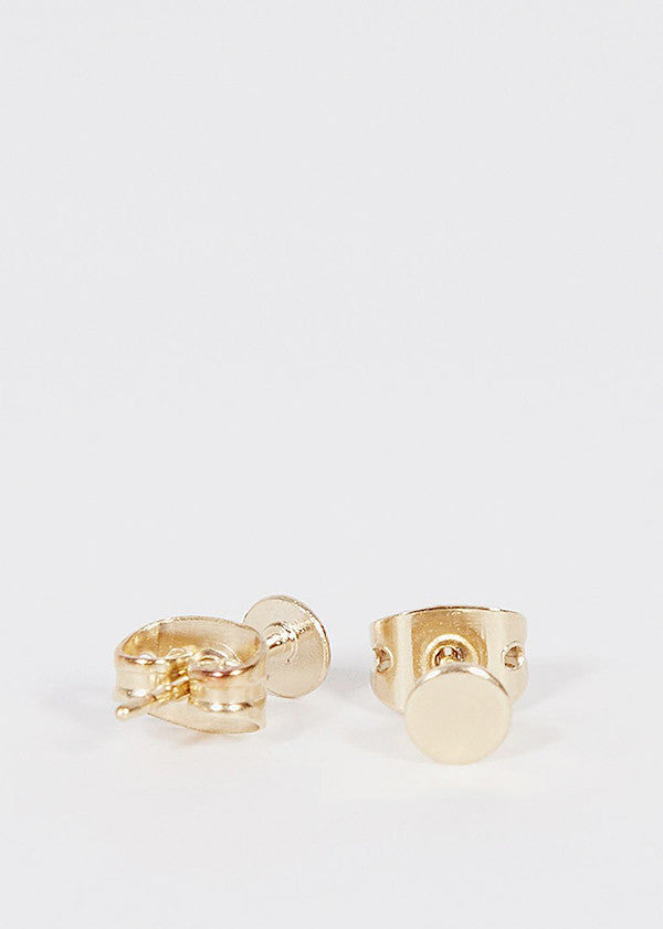 Ellips Earrings Gold 3