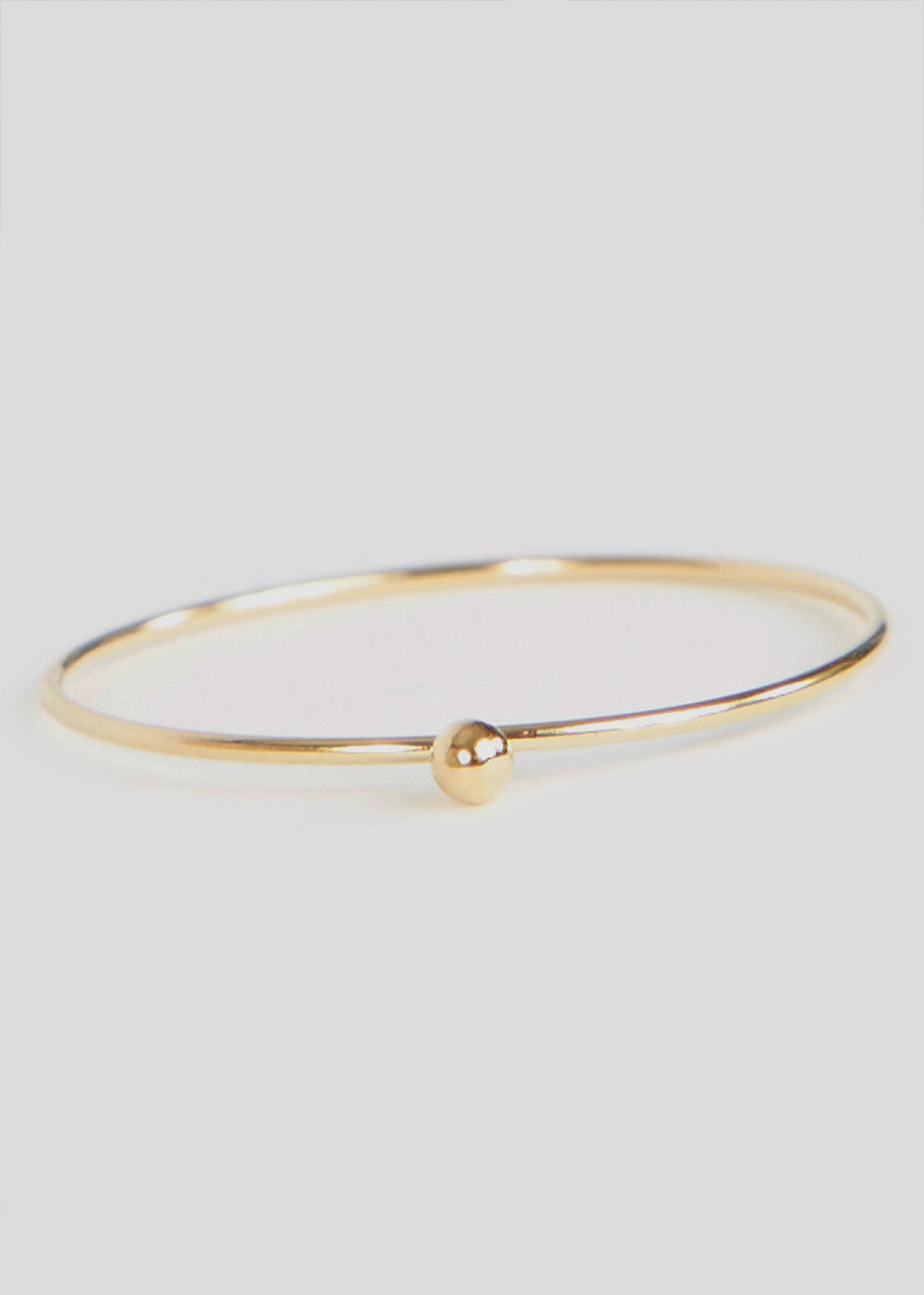 One Bead Ring Gold 2