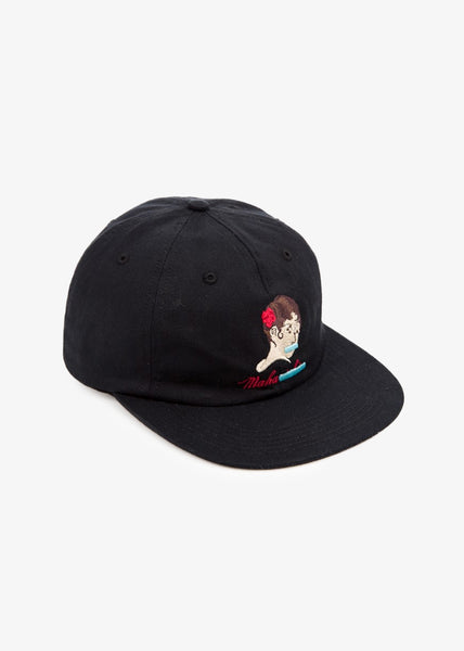 Tron Geisha Panel Cap Black