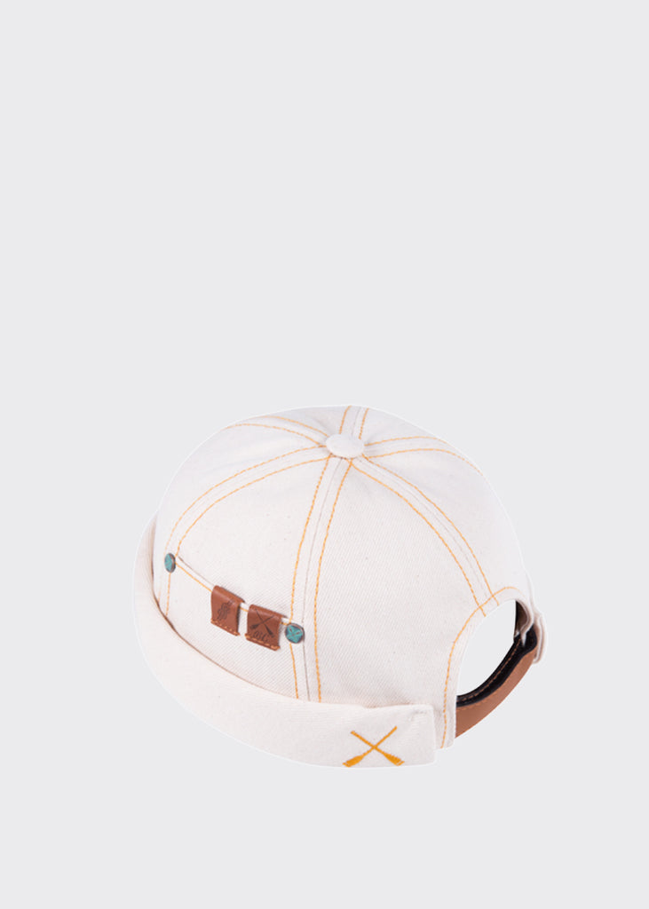 Miki Workwear Hat Denim Cream