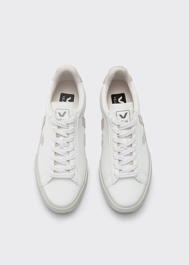 Campo Shoes Chrome Free White Natural