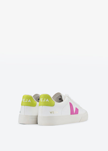 Campo Shoes Extra White Ultraviolet Jaune Fluo