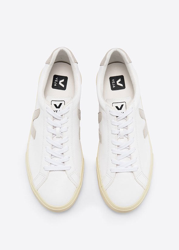 Esplar Logo Chrome Free Shoes Extra White Natural Butter Sole