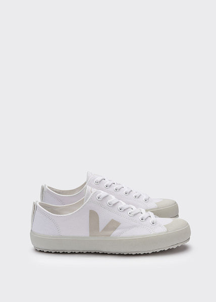 Nova Canvas Shoes White Pierre