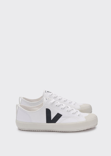 Nova Canvas Shoes White Black