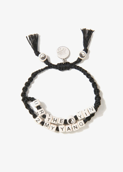 Youre The Yin To My Yang Bracelet Black