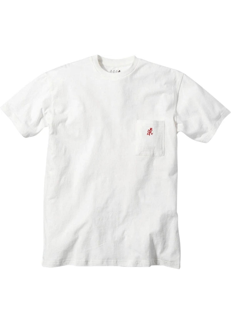 One Point Tee White
