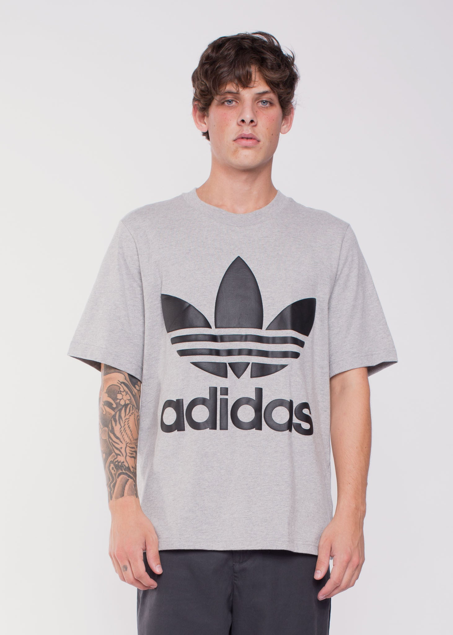 AC Boxy Tee Grey Heather
