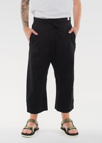 X BY O Seven-Eight Pants Black