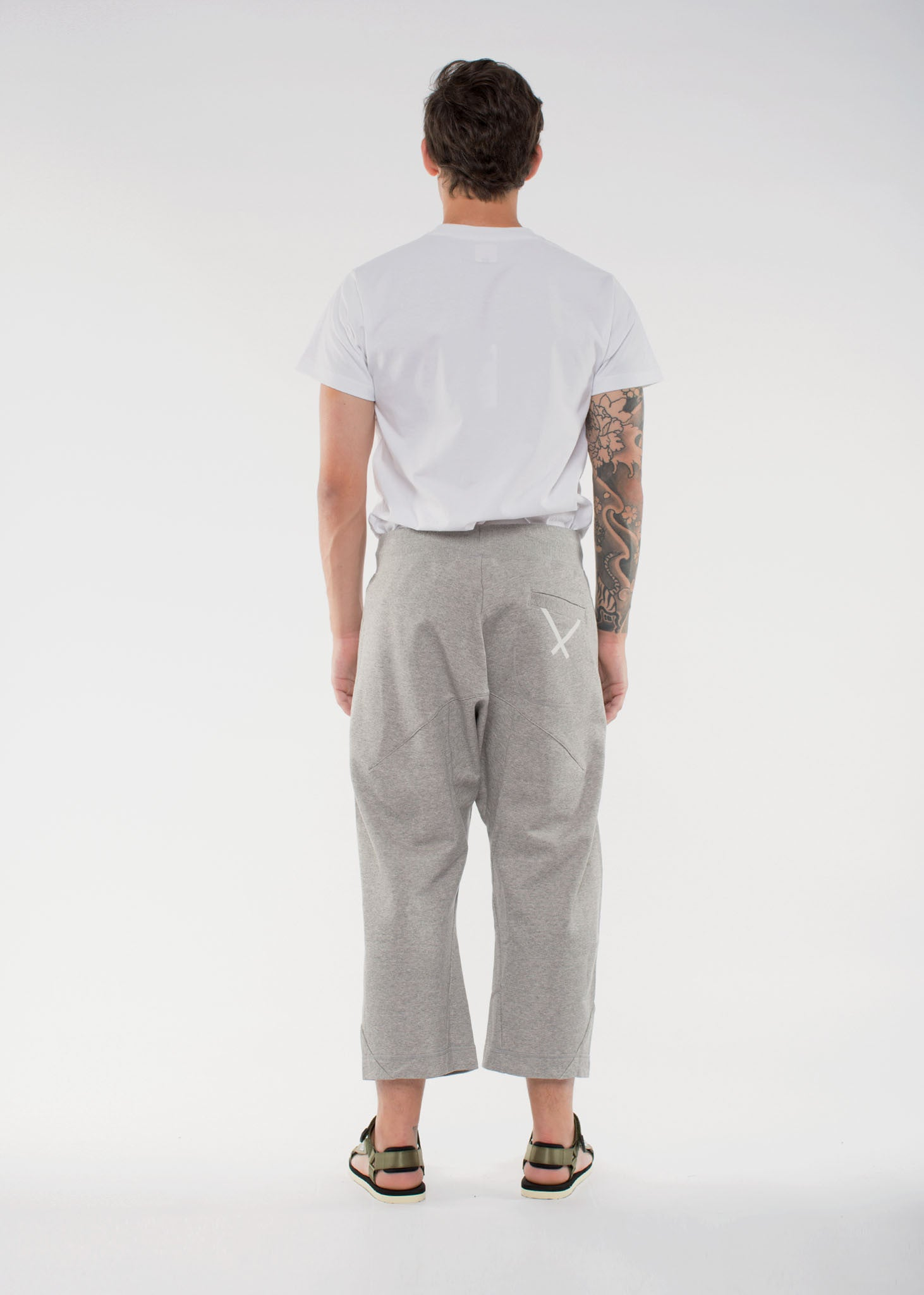 X BY O Seven-Eight Pants Grey