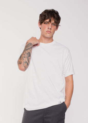 X BY O Short Sleeve Tee White