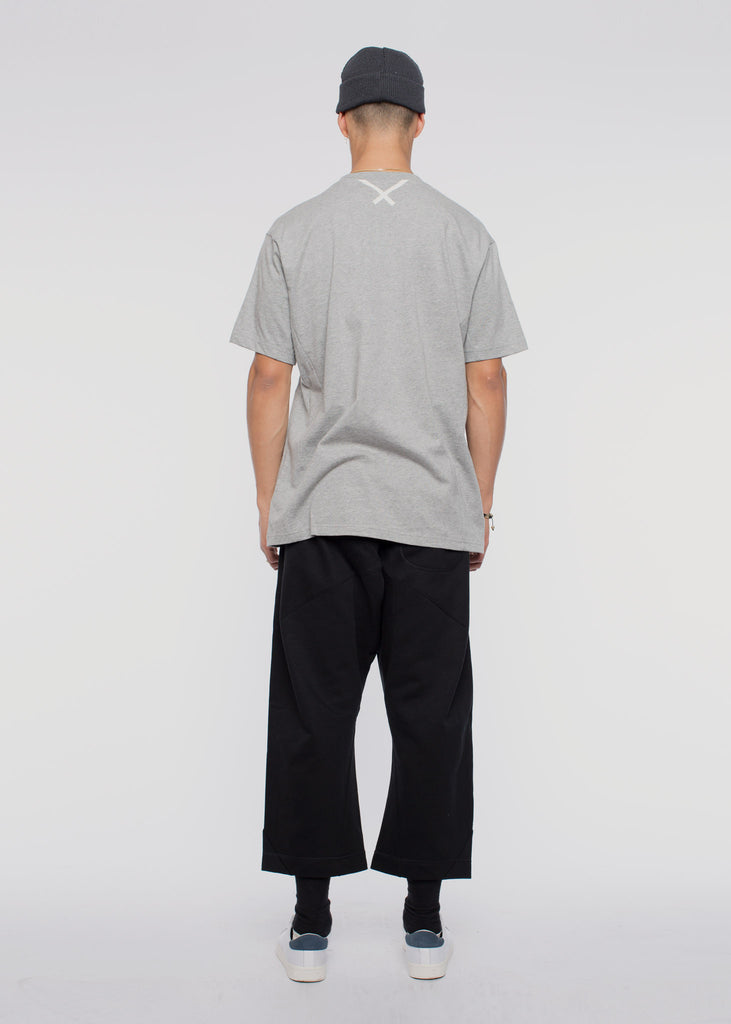 X By O SS Tee Medium Grey Heather