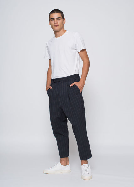 Alo Pants Navy Stripe